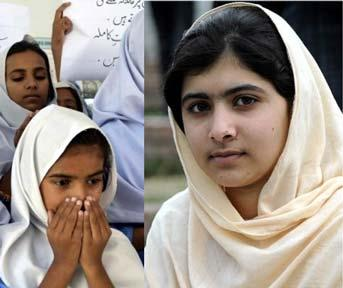 Youm-e-Dua for recovery of Malala' other girls today