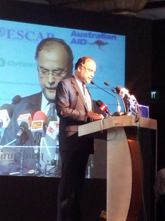 Development Starts with People and Ends with People: Prof. Ahsan Iqbal