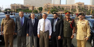 Pakistani manufactured Toyota Altis Cars handed over to Sri Lankan Police and Armed Forces