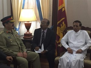 Pakistan played substantial role in consolidating integrity of SriLanka: President Maithripala