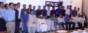 High Commission of Pakistan Welcomes Cricket Team in Colombo