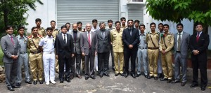 Pakistani cadets ​in Sri Lanka