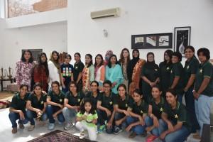 Pakistan HC hosts Women's 'A' side for brunch