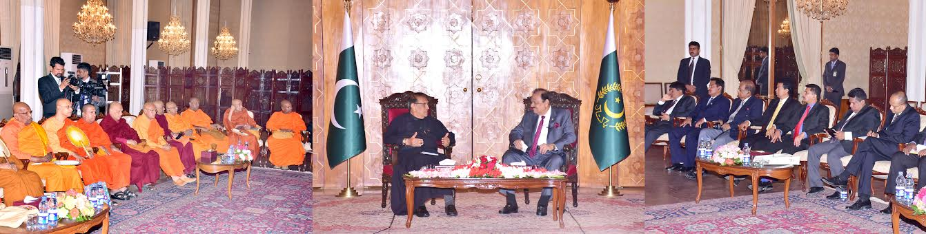 PAKISTAN ATTACHES GREAT IMPORTANCE TO TIES WITH SRI LANKA: PAKISTAN PRESIDENT