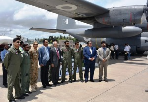 Pakistan hands over First Consignment of Relief Items for Sri Lankan Flood Victims