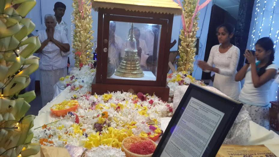 Anuradhapura to host Most Sacred Buddhist Relics from Taxila Pakistan on Poson Poya