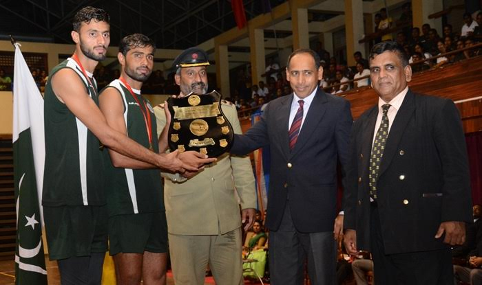 Pakistan Army Volleyball Team Wins Series against Sri Lankan Army Light Infantry Team