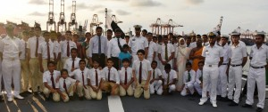 Group Photo - Students with Pakistani Navy officials