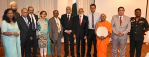 Foreign Secretary and Pakistan High Commissioner-designate with members of Interim Board of the society