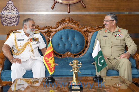Pakistan Chairman Joint Chiefs of Staff Committee visits Naval Headquarters