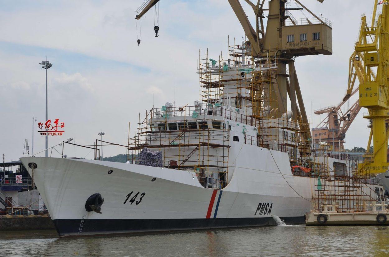 """Pakistan Maritime Security Ship """"Kashmir"""" to visit Sri Lanka"""