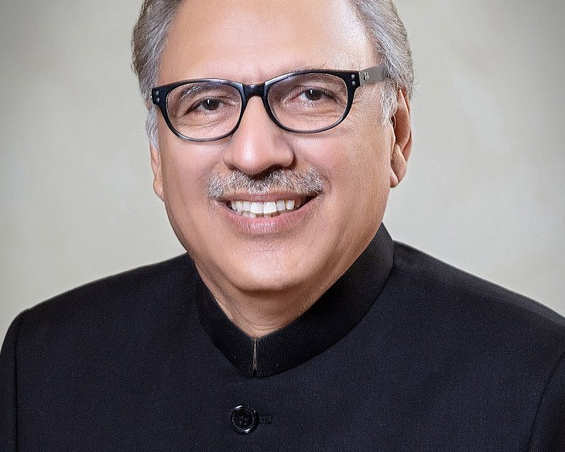 Message from Dr. Arif Alvi President of the Islamic Republic of Pakistan (On the occasion of Christmas, 2018)