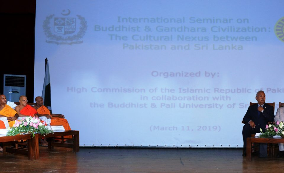 Pakistan-Sri Lanka relations are based on commonality of eternal values espoused by Islam and Buddhism: Pak Envoy
