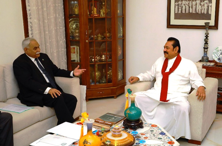 Pakistan High Commissioner met with Opposition Leader