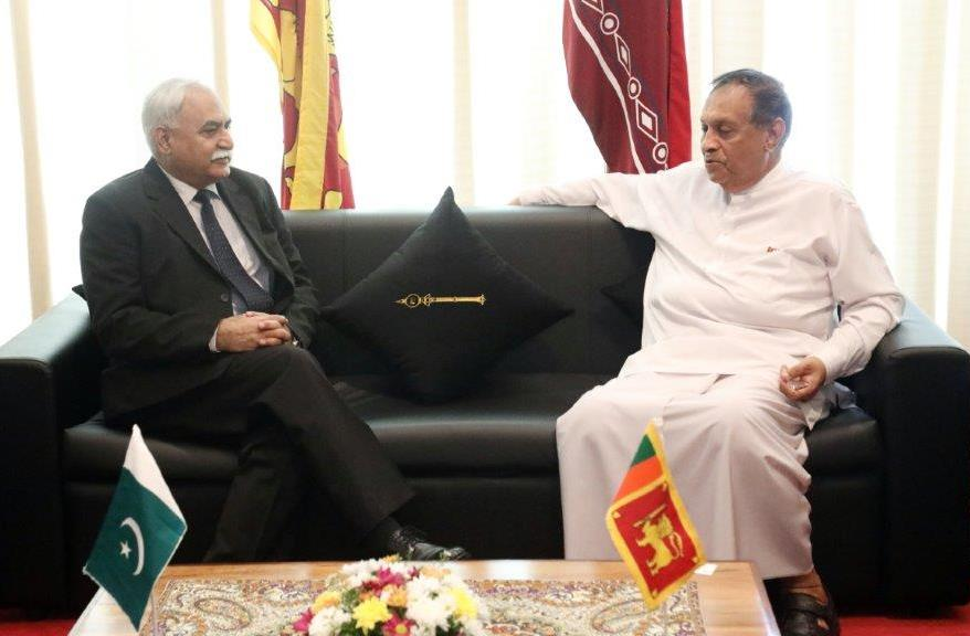 Pakistan High Commissioner briefed Speaker Parliament on latest security situation in the region