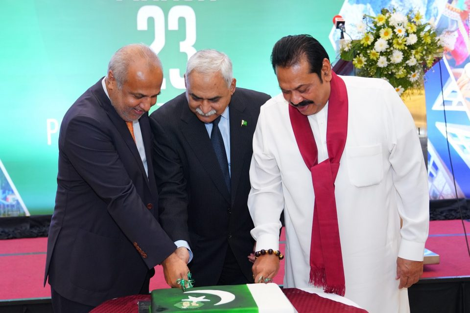 Pakistan's National Day Reception held in Colombo
