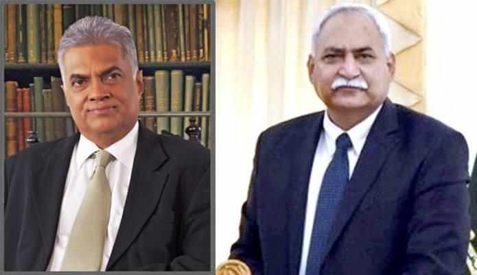 Pak Envoy called on the Sri Lankan Prime Minister
