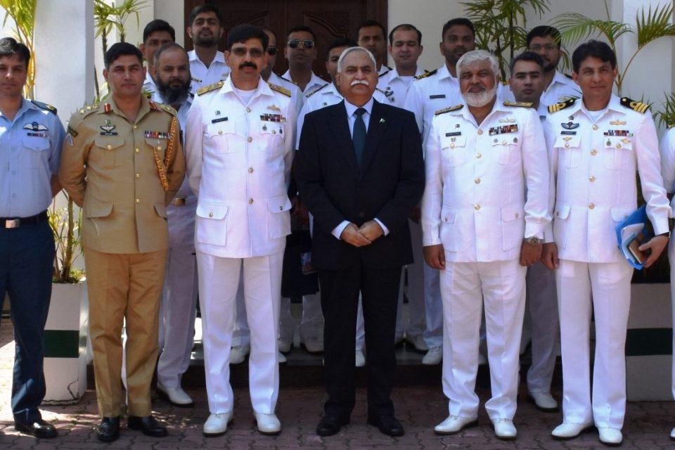 Delegation of Pakistan Navy War College visited Pak HC
