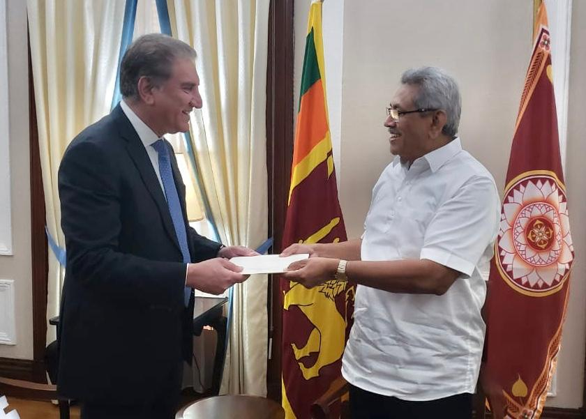 Foreign Minister visits Colombo and meets with Sri Lankan Leadership