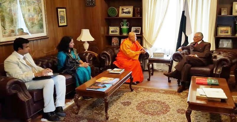 Efforts of Pakistan for preservation of Buddhist heritage appreciable: Ven. Banagala Upatissa Thero