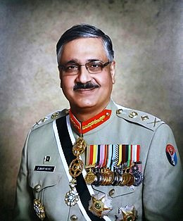 Pakistan's Chairman Joint Chiefs of Staff Committee is visiting Sri Lanka