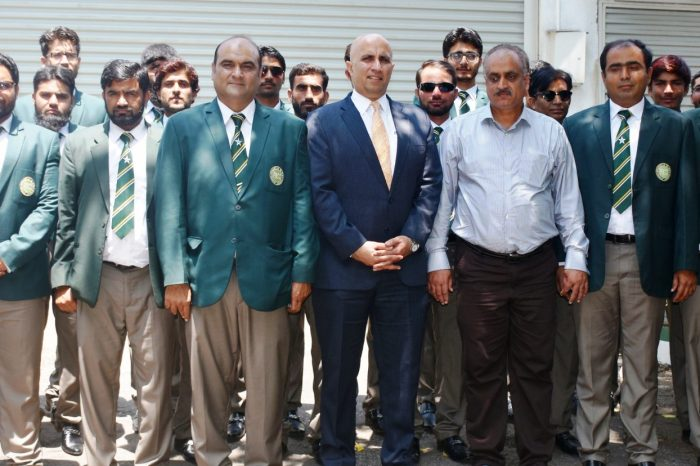 Pakistan's Blind Cricket Team visited Pak HC
