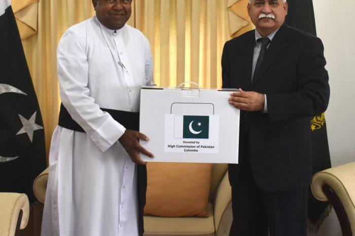 Pakistan donates sewing machines to Chaplain St. Vincent De Paul Society