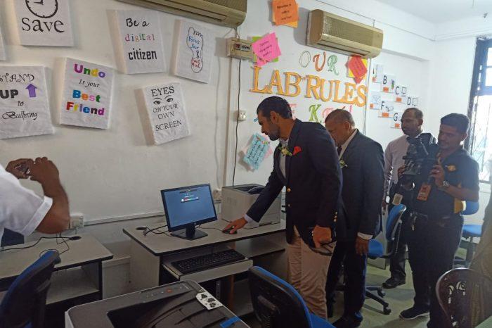 Pakistan donates fully equipped IT Lab to Badi-ud-din Mahmud Girls College, Kandy