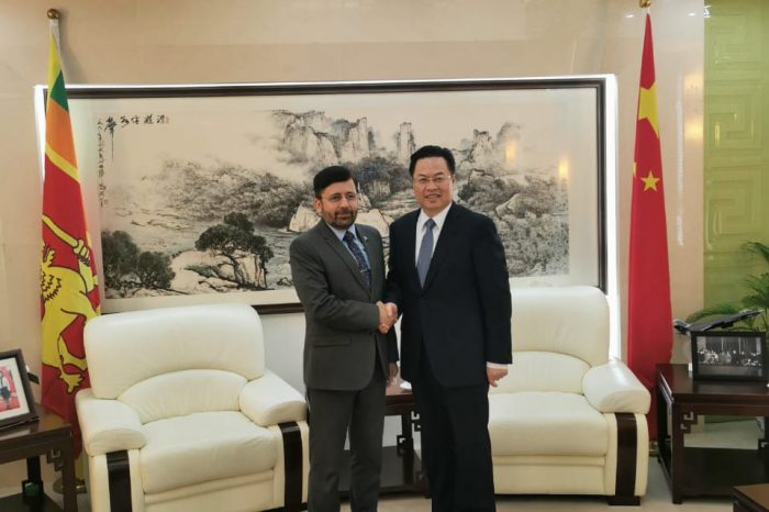High Commissioner meets with Chinese Ambassador