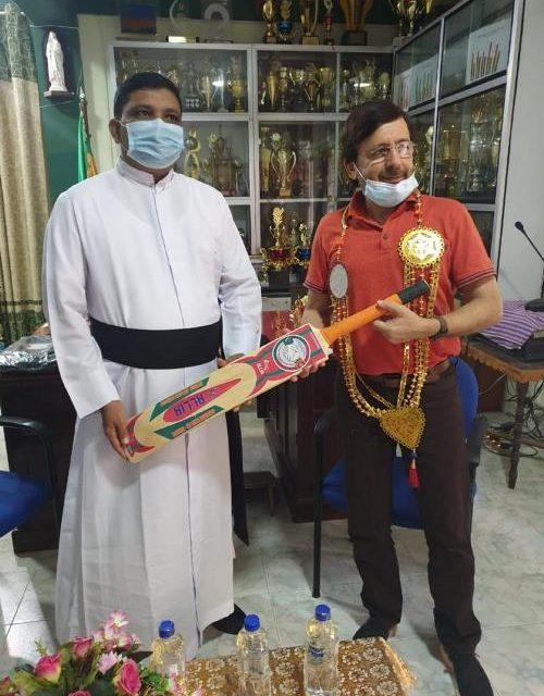 High Commissioner Visited St. Patrick's College Jaffna