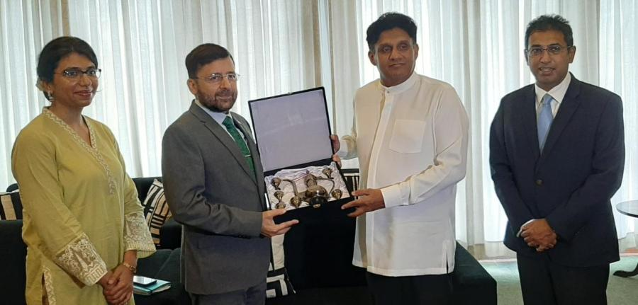 High Commissioner of Pakistan met with Leader of the Opposition