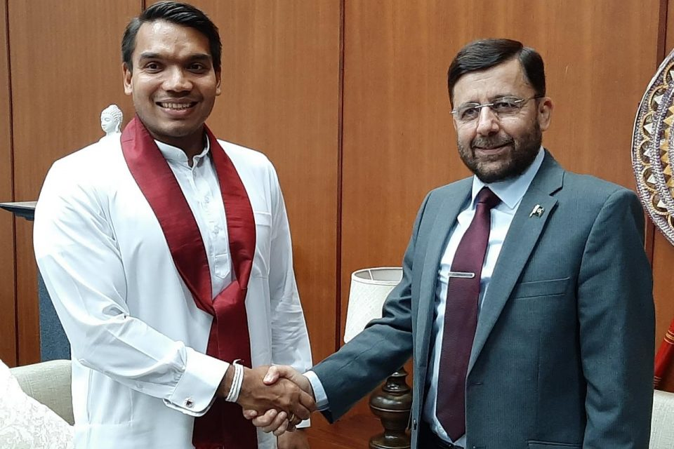 High Commissioner of Pakistan met with Sports Minister