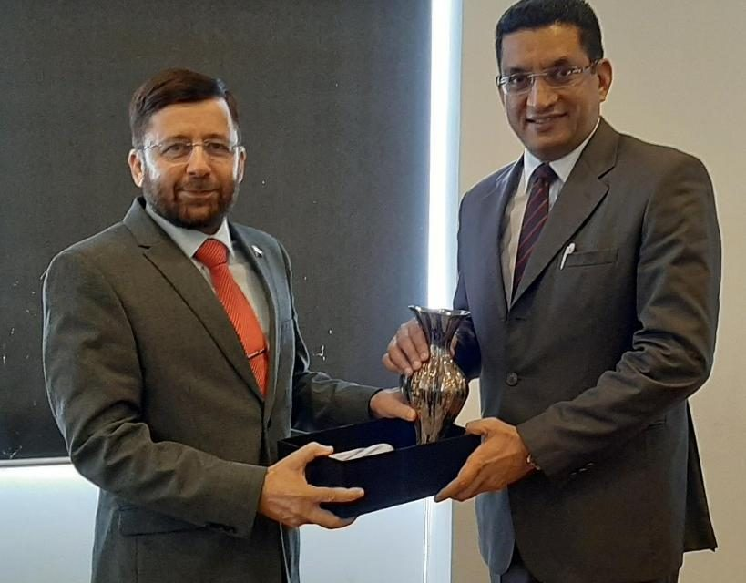High Commissioner of Pakistan met with Minister of Justice