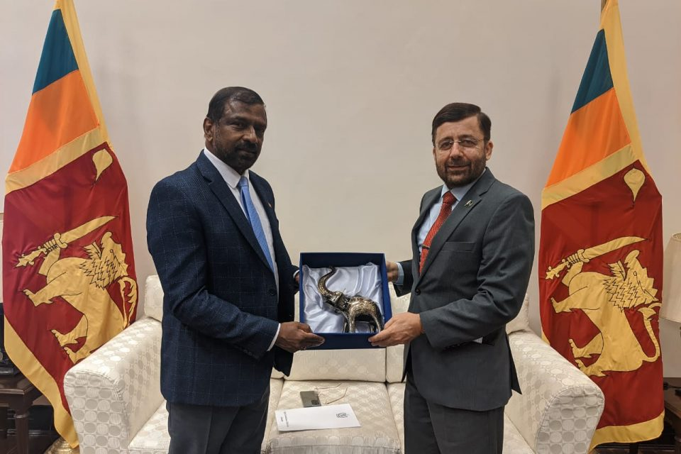High Commissioner of Pakistan met with the Foreign Secretary of Sri Lanka