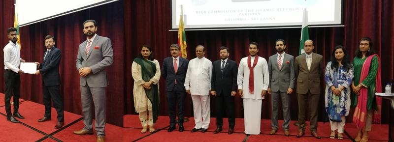 PAKISTAN HIGH COMMISSION AWARDS PRESTIGIOUS JINNAH SCHOLARSHIPS TO O & A – LEVEL STUDENTS OF SRI LANKA