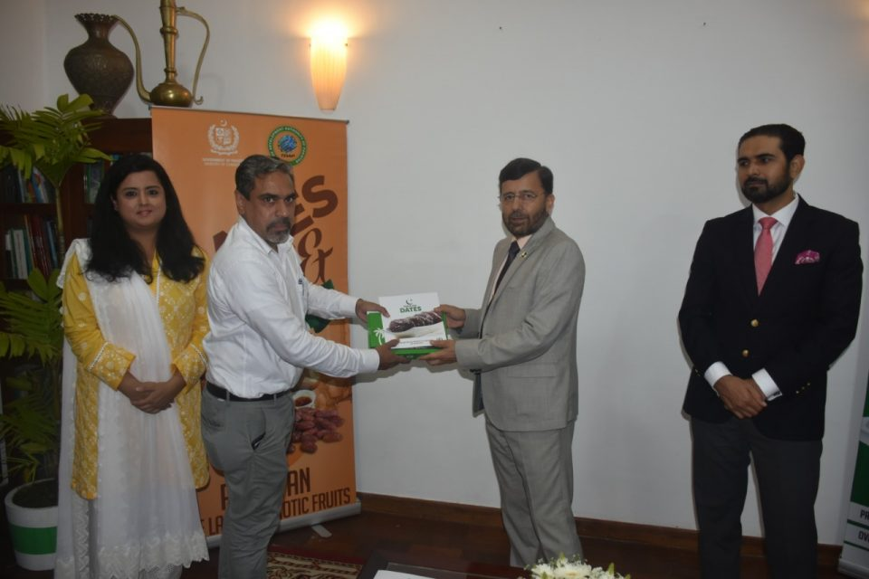 PROMOTIONAL EVENT FOR PAKISTANI DATES HELD BY HIGH COMMISSION OF PAKISTAN IN COLOMBO