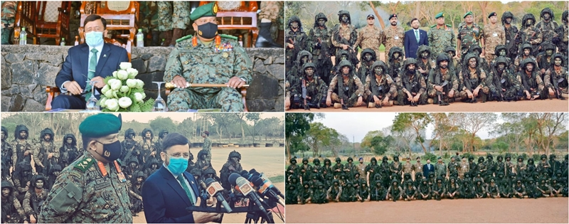 Pakistan and Sri Lankan armies conclude joint exercise